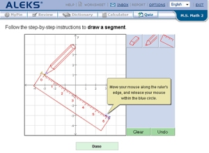 aleks Student-Account_Graphing-Tool